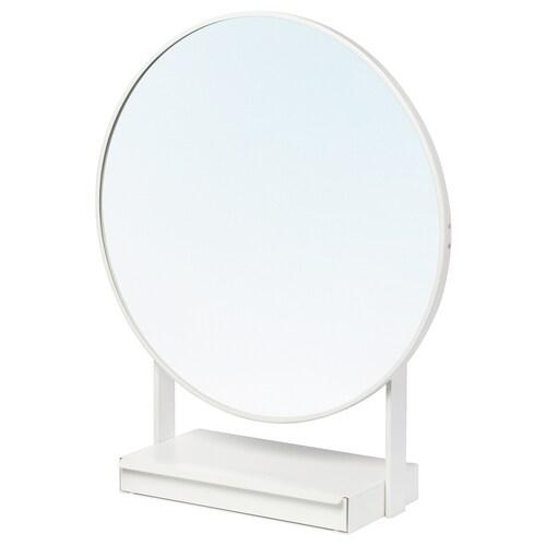 VENNESLA lustro stołowe biały 65 cm 79 cm 65 cm