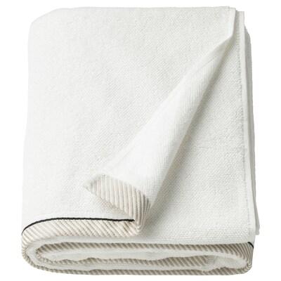 VIKFJÄRD Ręcznik kąpielowy, biały, 100x150 cm