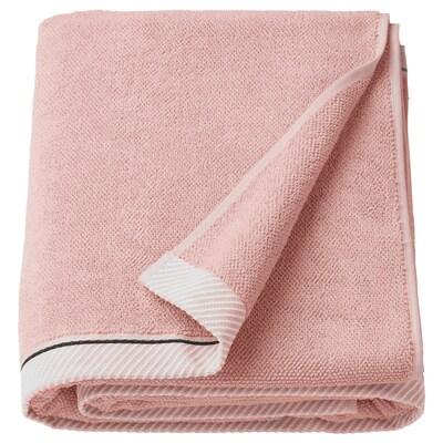 VIKFJÄRD Ręcznik kąpielowy, jasnoróżowy, 100x150 cm