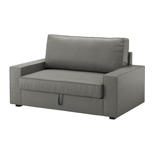 vilasund sofa dwuosobowa rozk adana borred szarozielony ikea. Black Bedroom Furniture Sets. Home Design Ideas