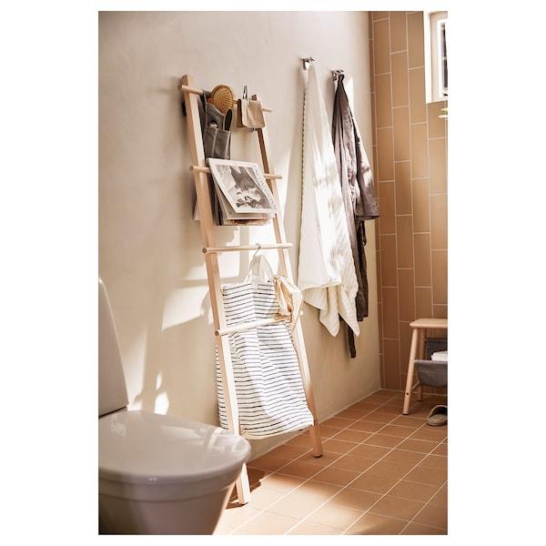 VILTO Stojak na ręczniki, brzoza