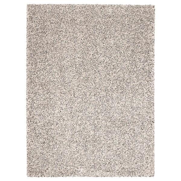 VINDUM Dywan z długim włosiem, biały, 170x230 cm, Kup tutaj