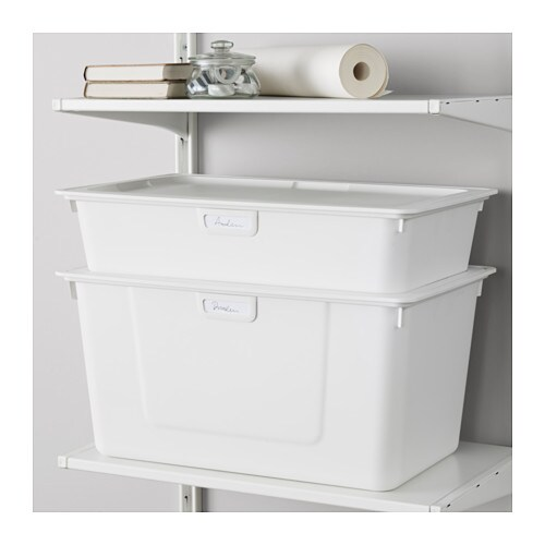 ALGOT Box IKEA Practical for storing large and small things or to sort waste.