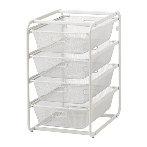 Algot Frame With Mesh Baskets Ikea Family Member Price