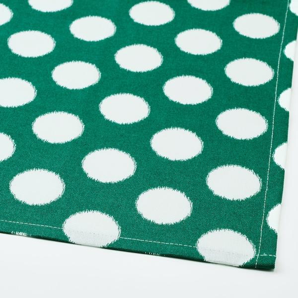 ALVALISA tea towel green/white 70 cm 50 cm 2 pack