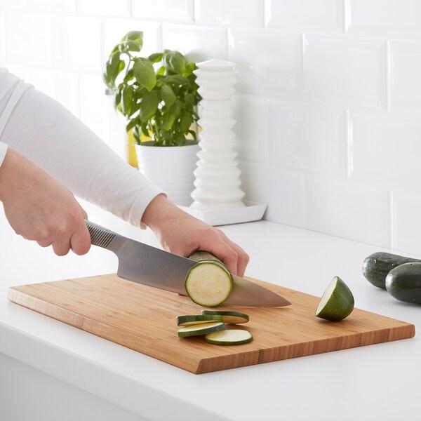 APTITLIG chopping board bamboo 45 cm 28 cm 16 mm