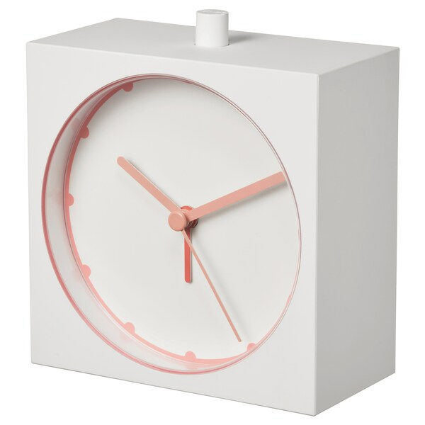 BAJK alarm clock white 5 cm 11 cm 10 cm