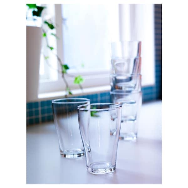 BEHÄNDIG glass clear glass 12 cm 30 cl 6 pack