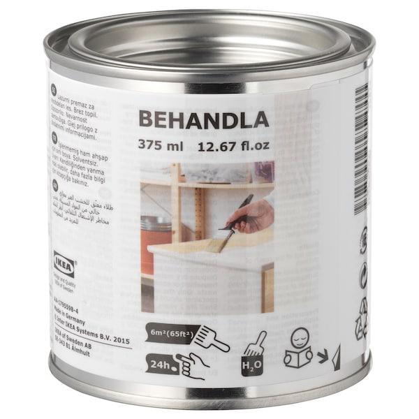 BEHANDLA glazing paint white 375 ml