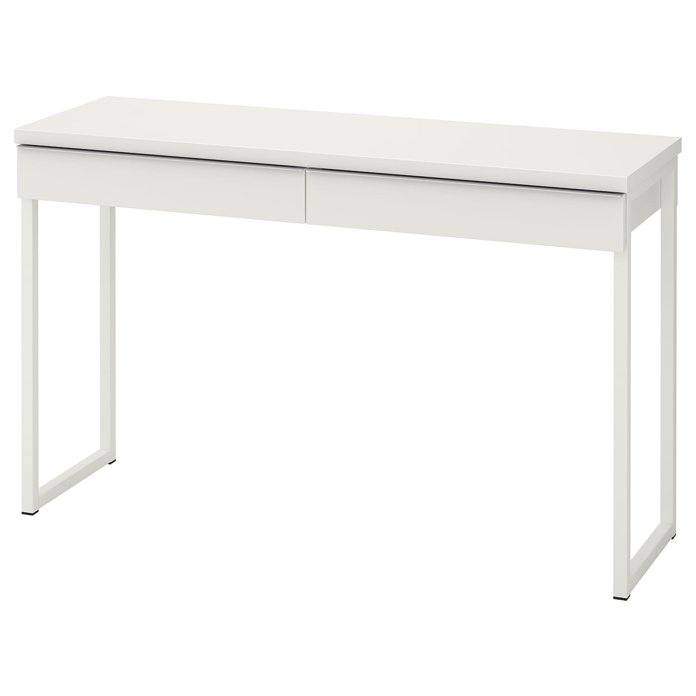 Bestå Burs Desk High Gloss White