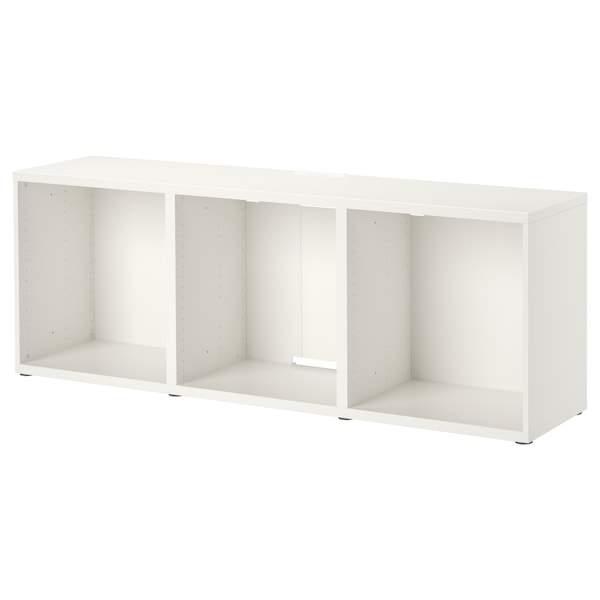 BESTÅ TV bench, white, 180x40x64 cm