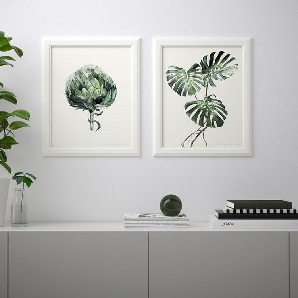 BILD Poster, Green leaves, 40x50 cm