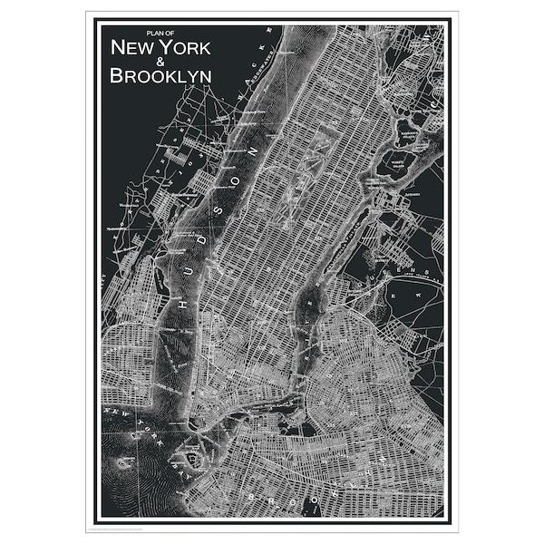 BILD Poster, New York City, 50x70 cm