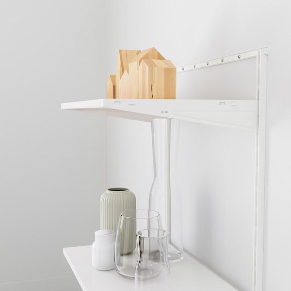 BOAXEL Shelving unit, white, 62x40x201 cm