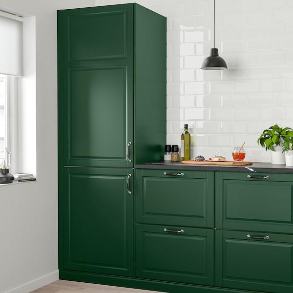 BODBYN Door, dark green, 40x100 cm