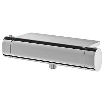 BROGRUND Thermostatic shower mixer, chrome-plated, 150 mm