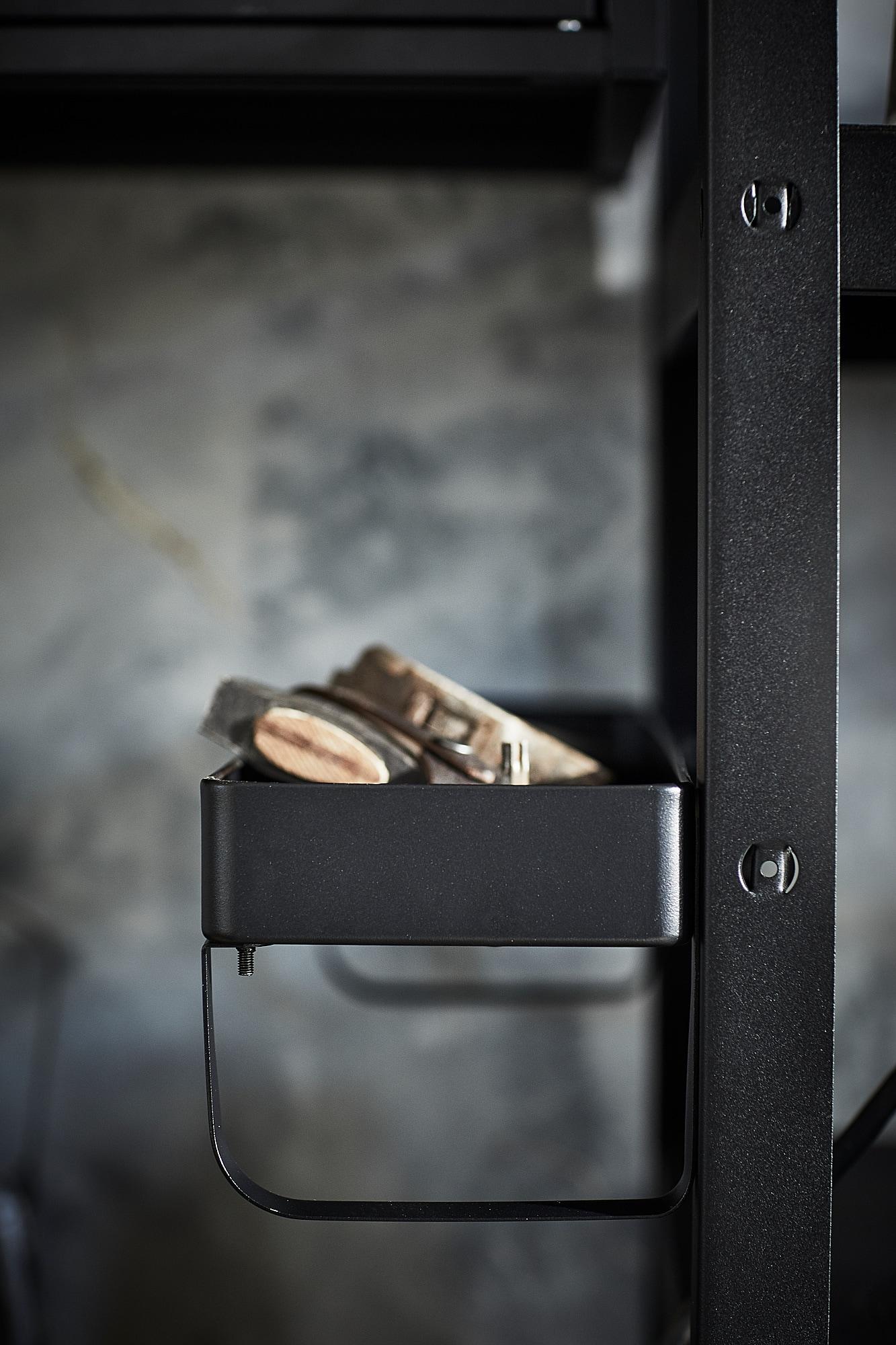 BROR add-on shelf black 55 cm 16 cm 14 cm