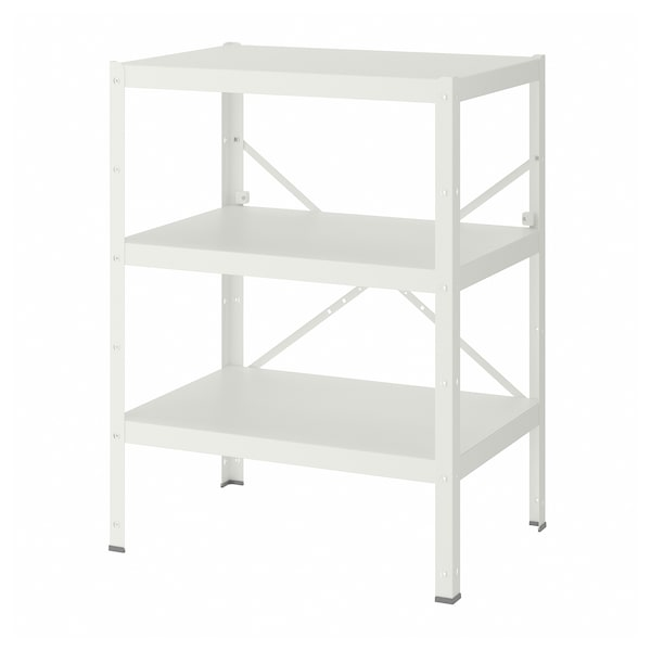 BROR shelving unit white 85 cm 55 cm 110 cm