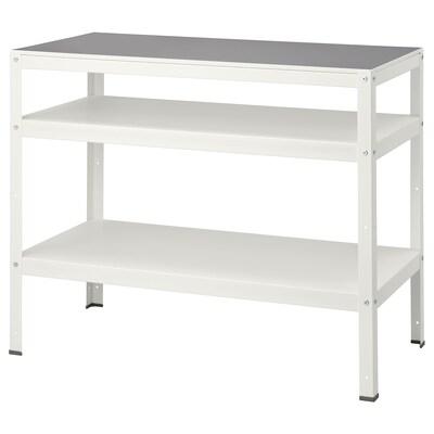 BROR Table, white, 110x55 cm