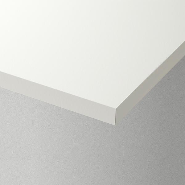 BURHULT Shelf, white, 59x20 cm