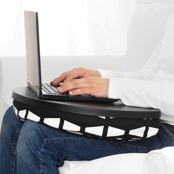 BYLLAN Laptop support, Ebbarp black/white