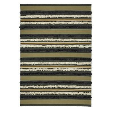 DEKORERA Rug, flatwoven, striped, 170x240 cm
