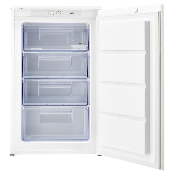 DJUPFRYSA Integrated freezer A++, white, 98 l