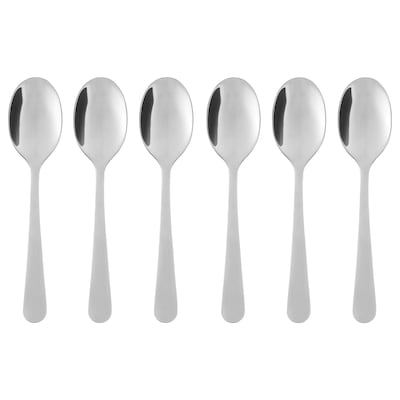 DRAGON coffee spoon stainless steel 11 cm 6 pack