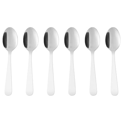 DRAGON dessert spoon stainless steel 16 cm 6 pack