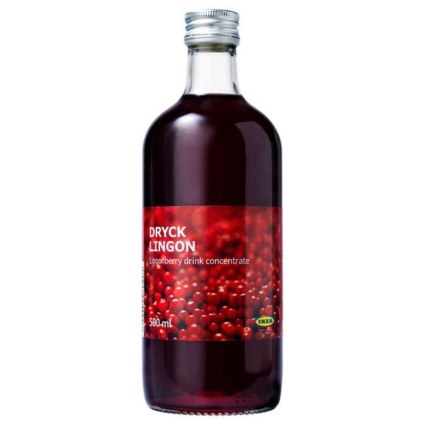 DRYCK LINGON lingonberry syrup 500 ml
