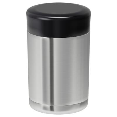 EFTERFRÅGAD Food vacuum flask, stainless steel, 0.5 l