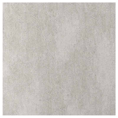 EKEKULL Custom made wall panel, matt concrete effect/ceramic, 1 m²x1.2 cm