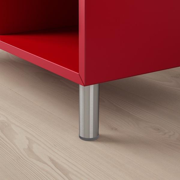 EKET cabinet combination with legs red 70 cm 140 cm 35 cm 80 cm