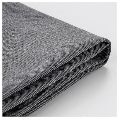 EKTORP cover three-seat sofa Nordvalla dark grey