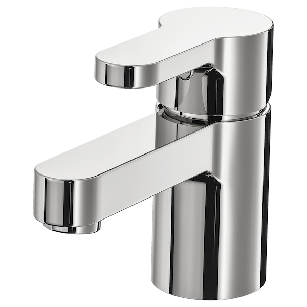 ENSEN wash-basin mixer tap with strainer chrome-plated 12 cm