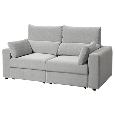 ESKILSTUNA 2-seat sofa, Tallmyra white/black