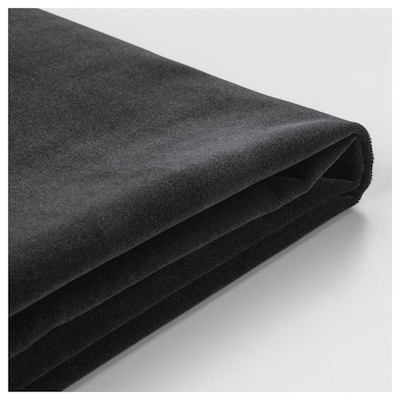 FÄRLÖV cover for 3-seat sofa Djuparp dark grey