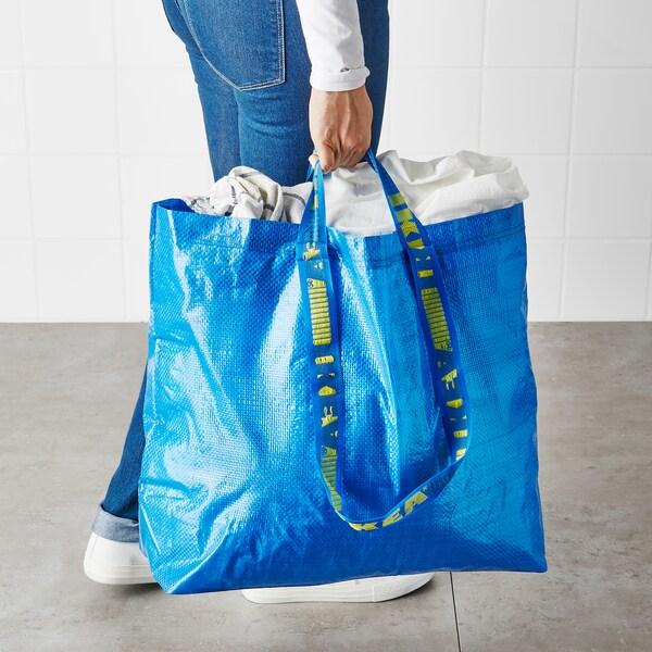 FRAKTA carrier bag, medium blue 45 cm 18 cm 45 cm 25 kg 36 l