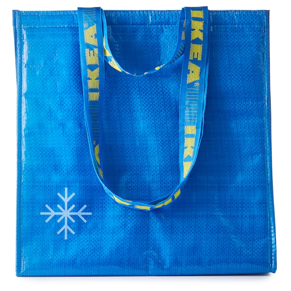 FRAKTA cool bag blue 38 cm 20 cm 40 cm