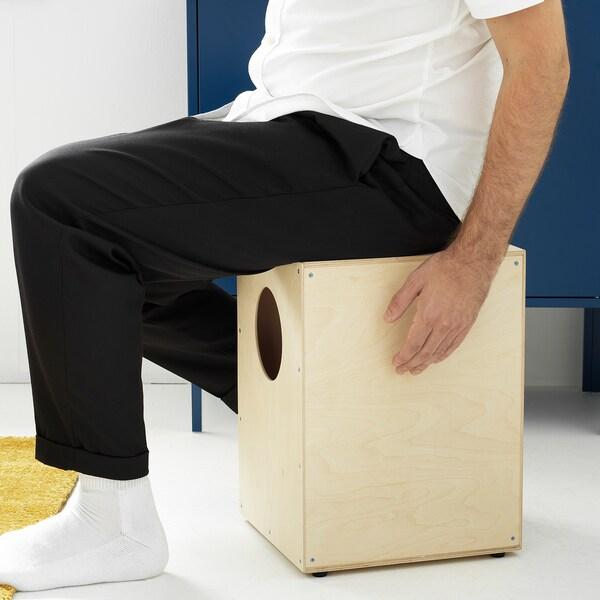 FREKVENS cajón drum plywood 30 cm 31 cm 42 cm