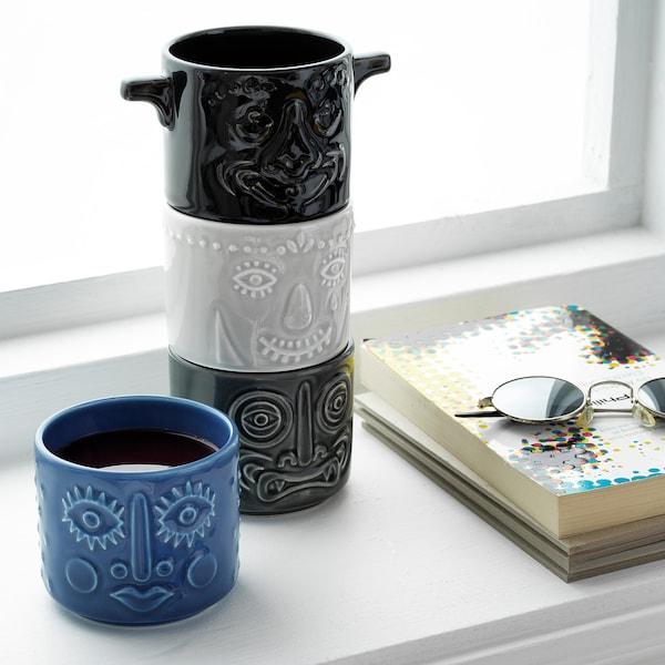 FREKVENS cup assorted colours 7 cm 8 cm 35 cl 4 pack
