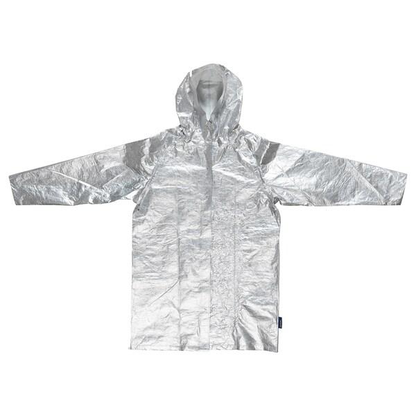 FREKVENS raincoat silver-colour 110 cm 128 cm