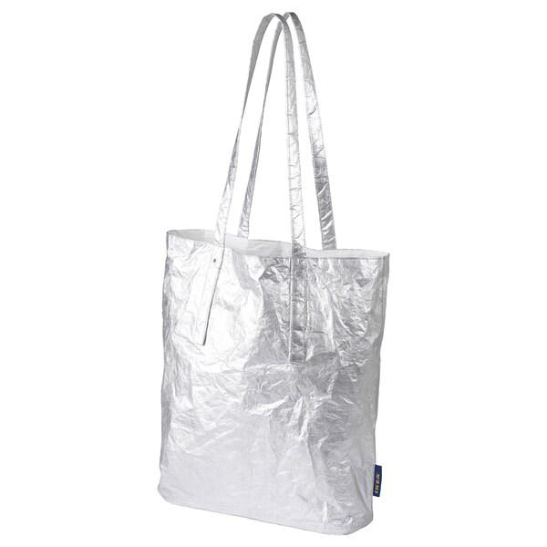 FREKVENS tote bag medium silver-colour 30 cm 10 cm 37 cm 15 kg 16 l