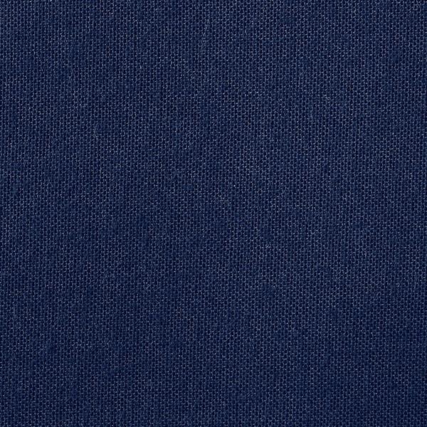 FRIDANS Block-out roller blind, blue, 160x195 cm