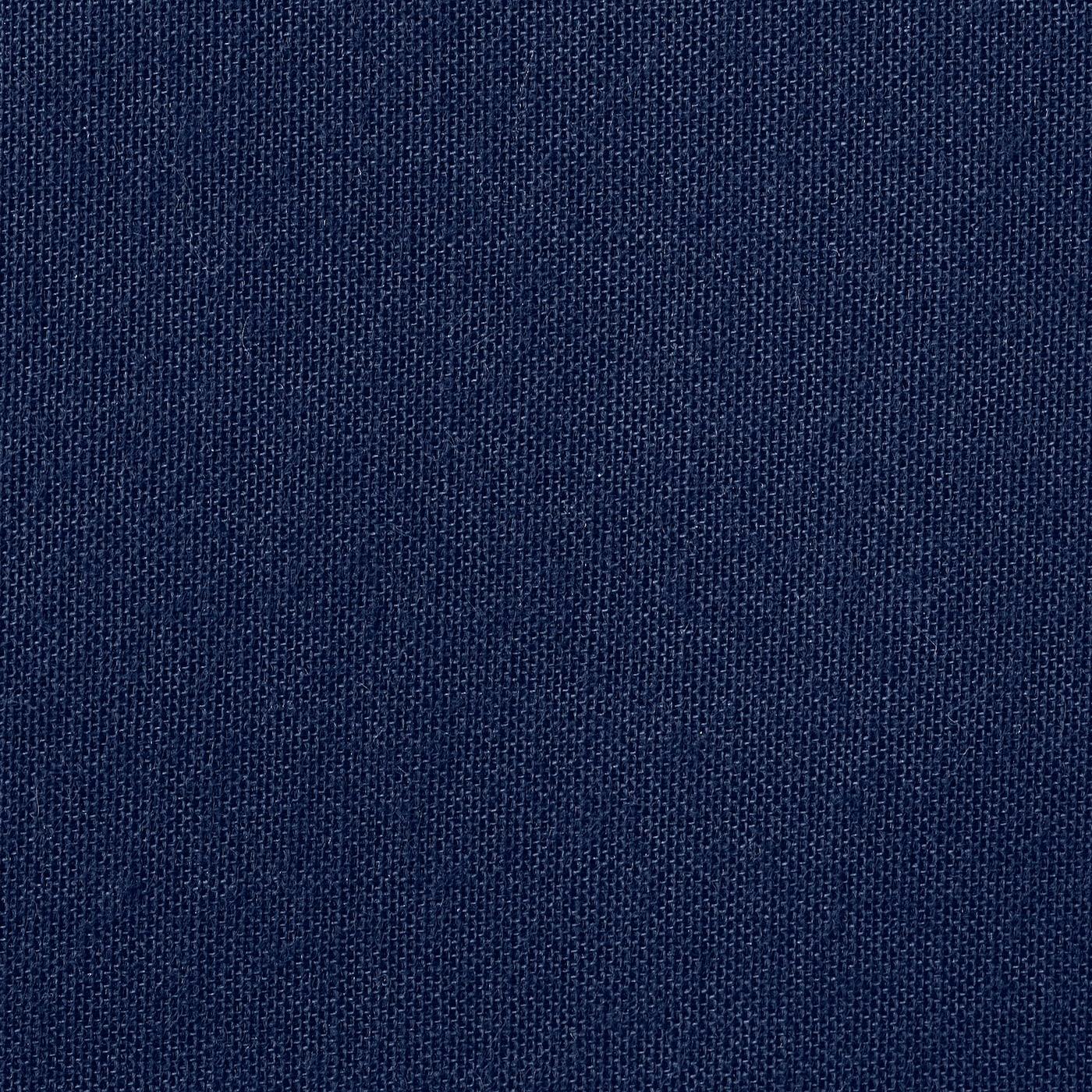 FRIDANS Block-out roller blind, blue, 180x195 cm
