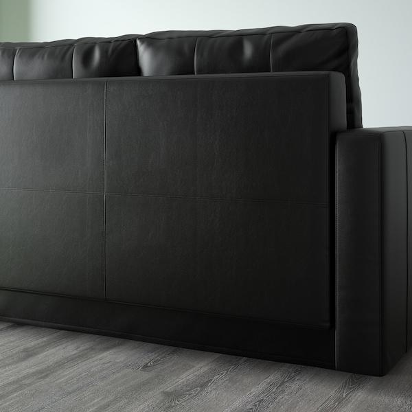 FRIHETEN Corner sofa-bed with storage, Bomstad black
