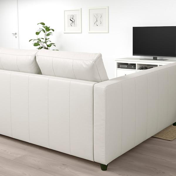 FRIHETEN Corner sofa-bed with storage, Bomstad white