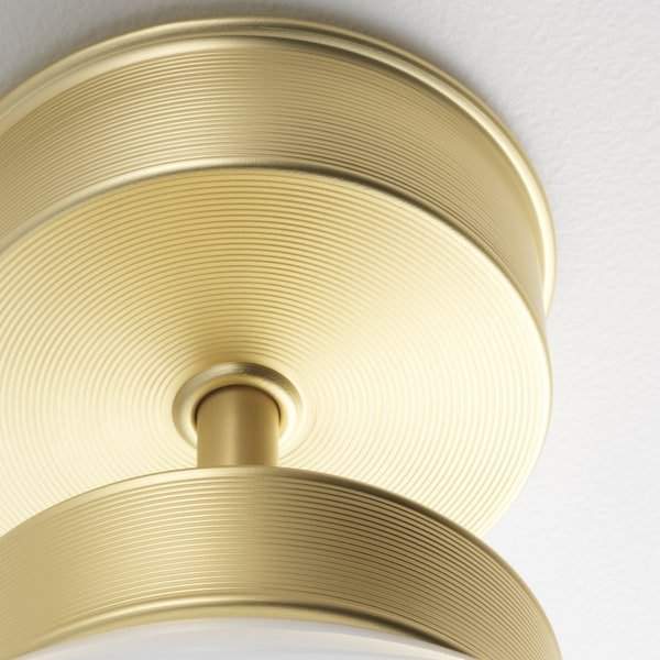 FRIHULT Ceiling lamp, brass-colour