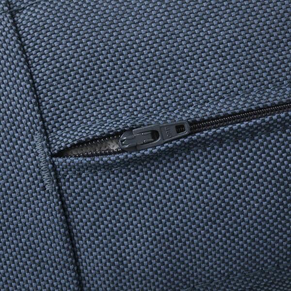 FRÖSÖN/DUVHOLMEN seat cushion, outdoor blue 62 cm 62 cm 12 cm