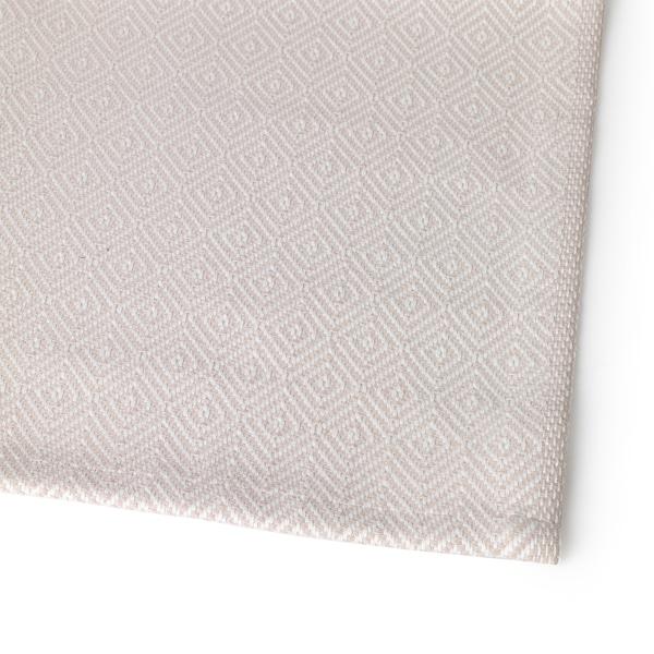 GODDAG table-runner beige/white 130 cm 35 cm